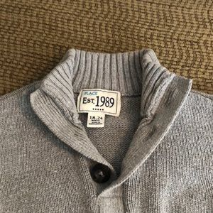 Children's Place Gray Sweater 18-24 mo